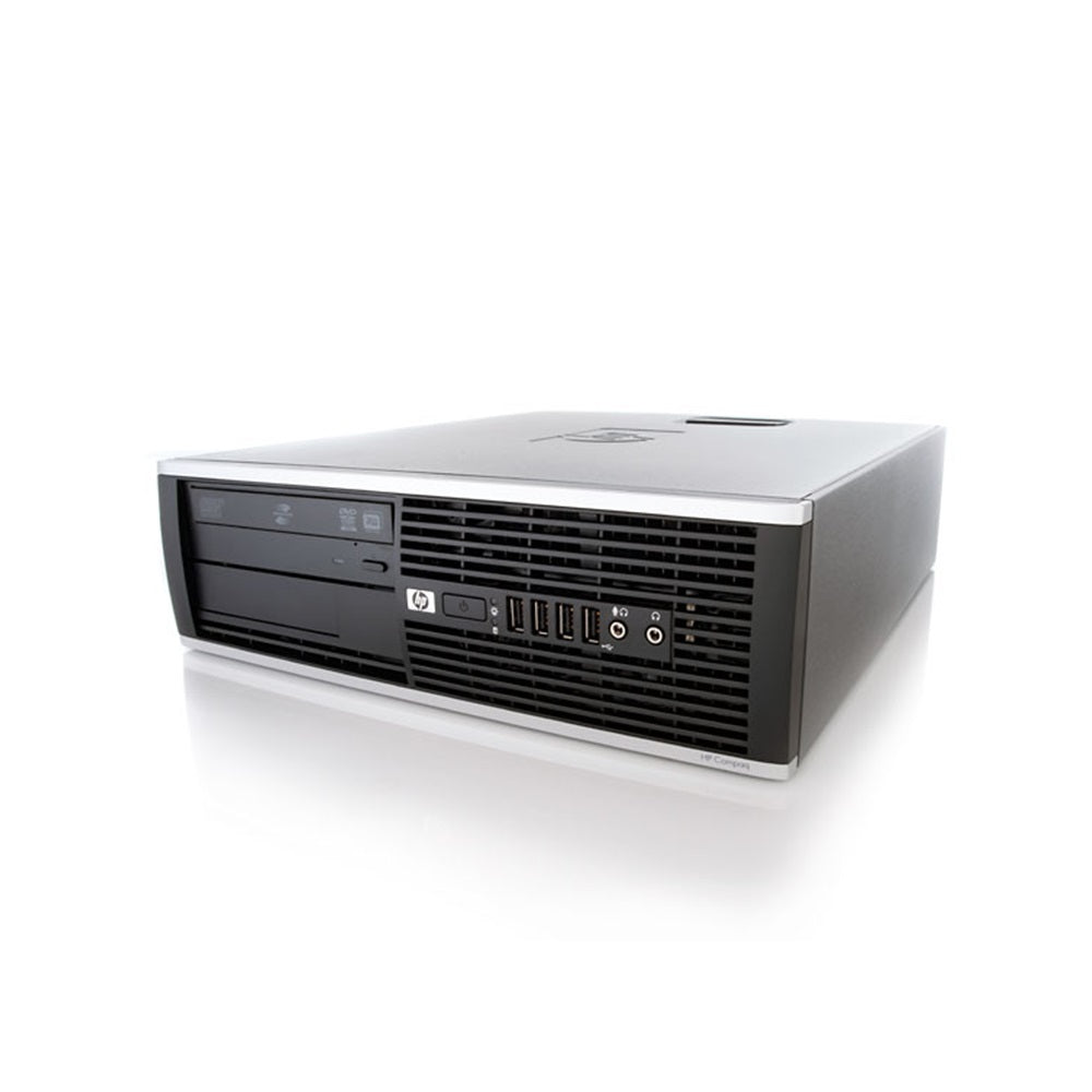 HP 6000 SFF C2D E8400 - 3.0GHz 4GB 250GB DVD Windows 10 Home (Refurbished)