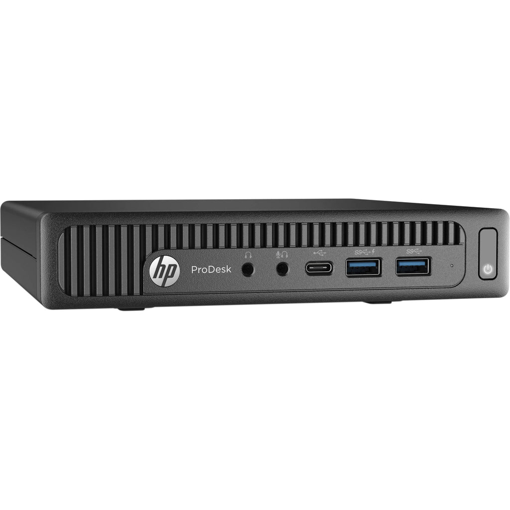 HP 600 G2 Micro Desktop i3 6100T 3.2ghz 16GB Ram 256GB SSD Win 10 Pro