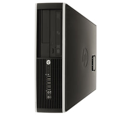 HP 6200 SFF i5-2400 3.1GHz 4GB 250GB DVD Windows 10 Pro WiFi (Refurbished)