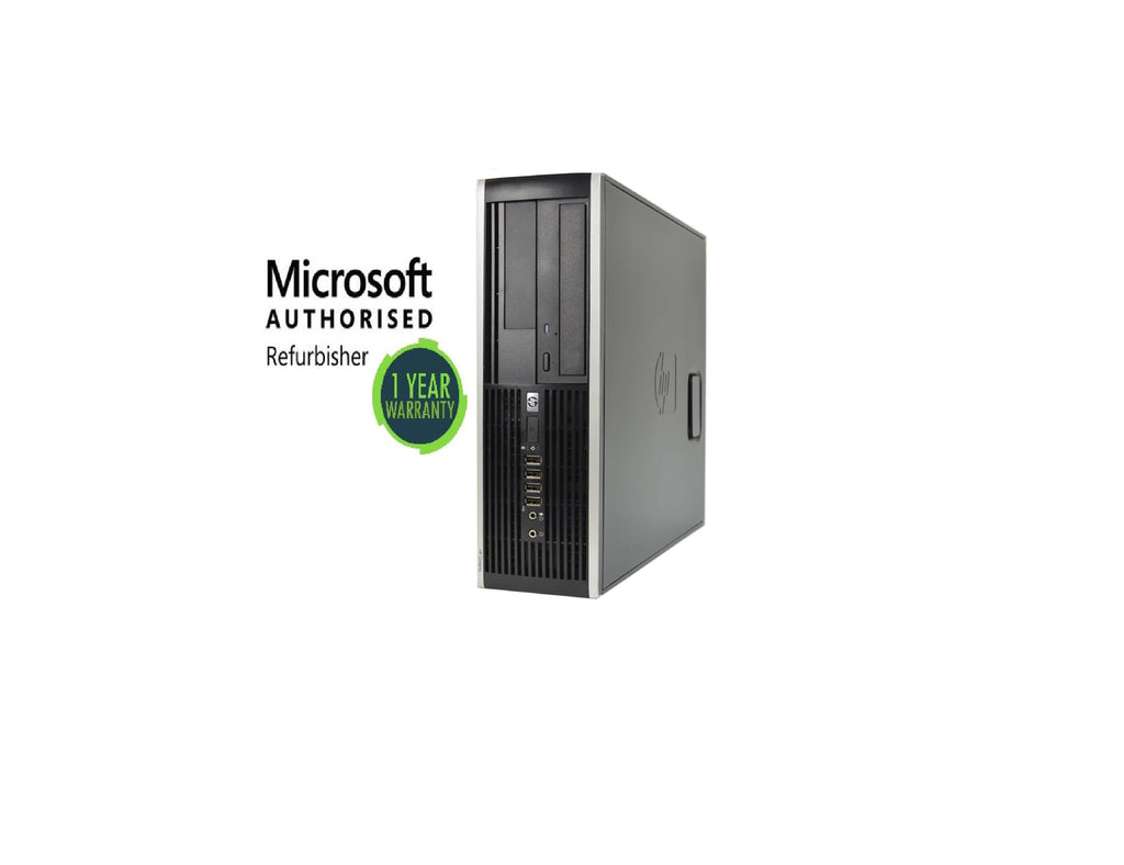 HP 6305 SFF AMD A4 5300B 3.4GHz 4GB 250GB DVD Windows 10 PRO WIFI (Refurbished)