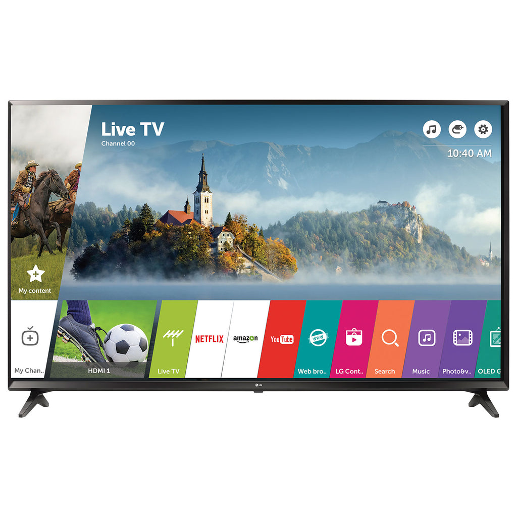 "Certified Refurbished LG 43"" 4K Smart LED UHD HDR TV (43UJ6300)"