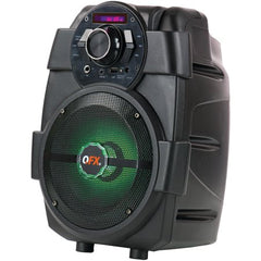 "QFX PBX-5 Rechargeable 6.5"" Party Speaker Brand New"