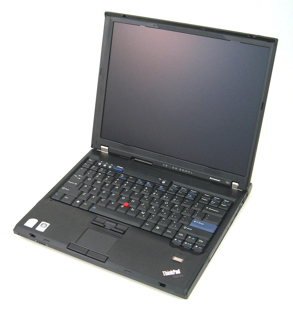 Lenovo Thinkpad R61 Intel Core2Duo-T8100 2GB 160GB HDD Windows 10 Home (Refurbished)
