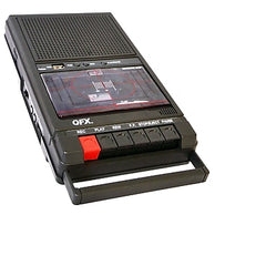 QFX Retro-39 Shoebox Tape Recorder USB Player