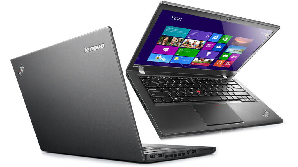 "Lenovo Thinkpad T440S 14"" Core i5(4300U)1.9GHz 8GB 240GB SSD Windows 10 Pro (Refurbished)"