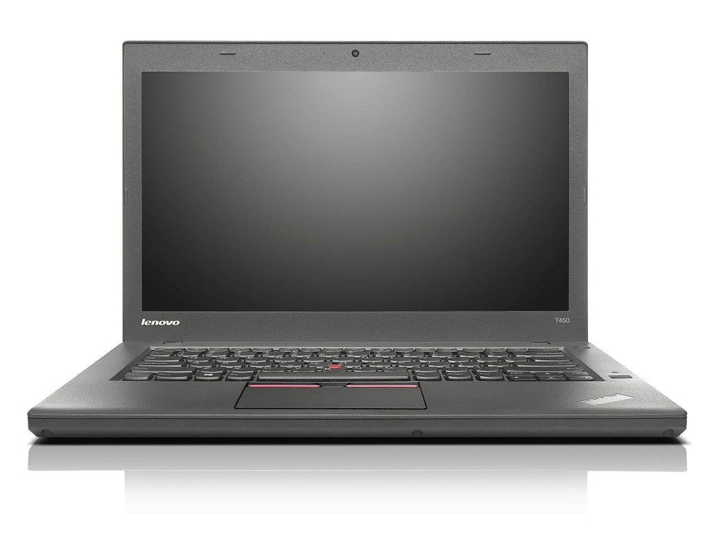 "Lenovo Thinkpad T450 Core i5-(5300U)2.3GHz 8GB 240GB SSD 14"" Windows 10 Pro"