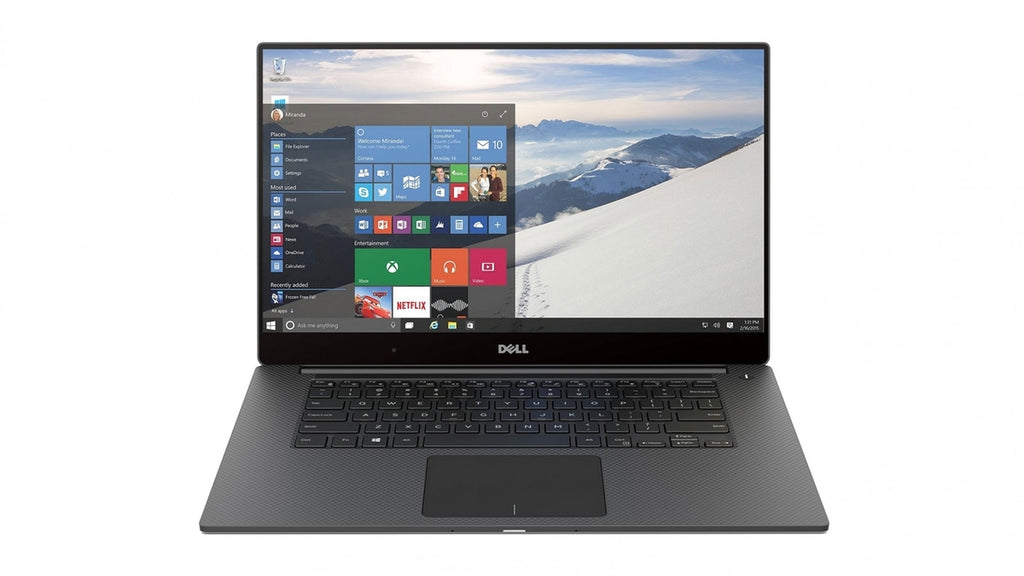 "Dell XPS 15 9550 15.6"" FHD Core i7-6700HQ-2.6GHz 8GB 256GB SSD Windows 10 Pro (Refurbished)"
