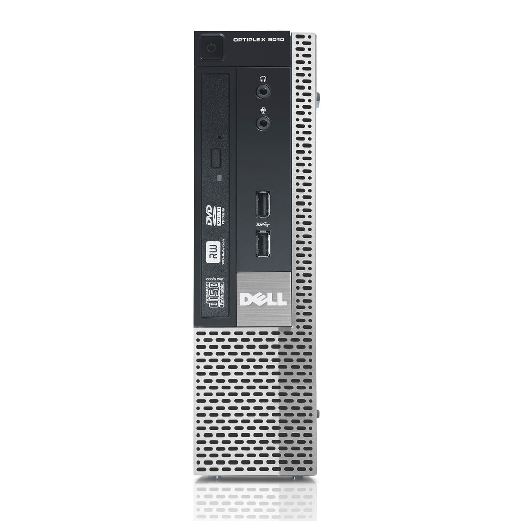 Dell Optiplex 9010 USFF Intel i7 3770 3.4GHz 8GB 500GB DVD Windows 10 Pro WiFi (Refurbished)