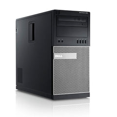 Dell GX990 Mini Tower Intel i5(2400), 8GB, 1TB, Windows 10 Pro, WiFi