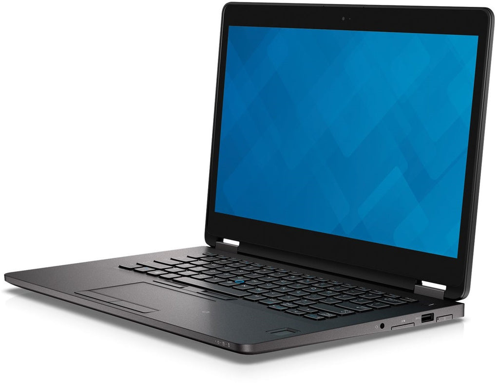 "Dell E7470 14"" Core i5-6200U 8GB 256 GB SSD Win10 P (Refurbished)"