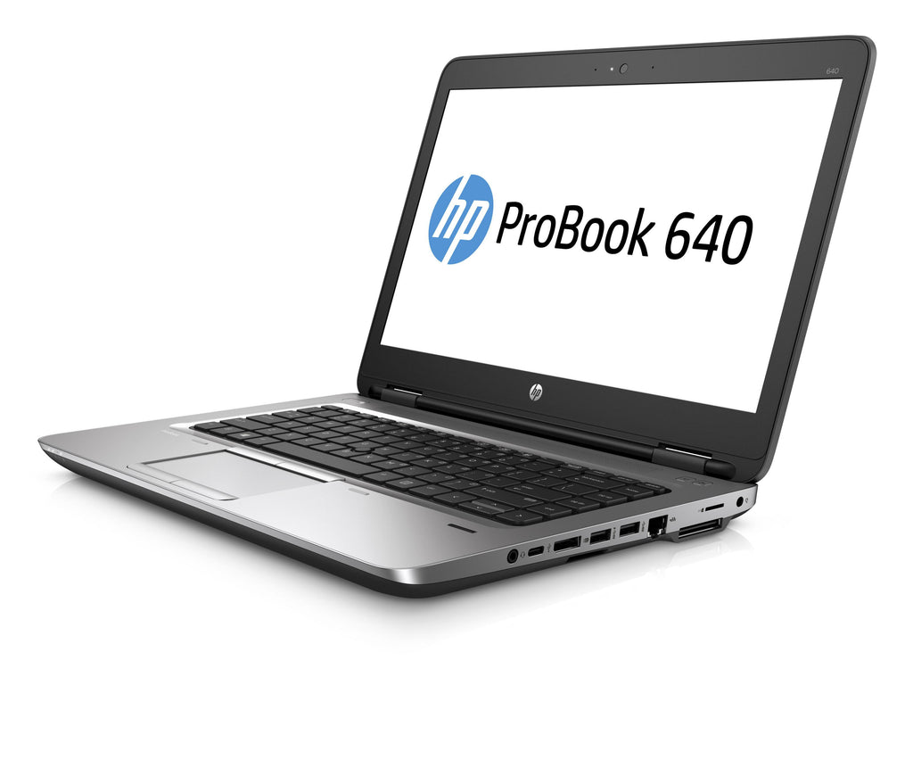 "HP Probook 640 G2 14"" i5-6300U-2.40GHz 8GB 128GB SSD Windows 10 Pro (Refurbished)"