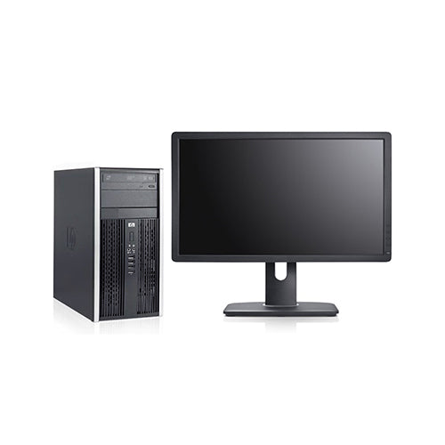 HP 8100 Tower i5-650 3.2GHz 8GB 128GB SSD DVD Windows 10 Pro (Refurbished)