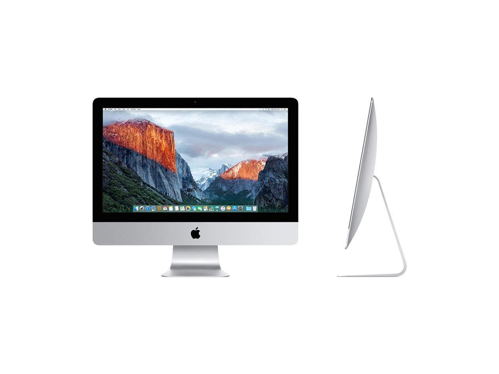 "Apple iMac A1418 21.5"" AIO Intel Core i3 3.3GHz 4GB 500GB HDD 10.12.6 OS (Refurbished B Grade)"