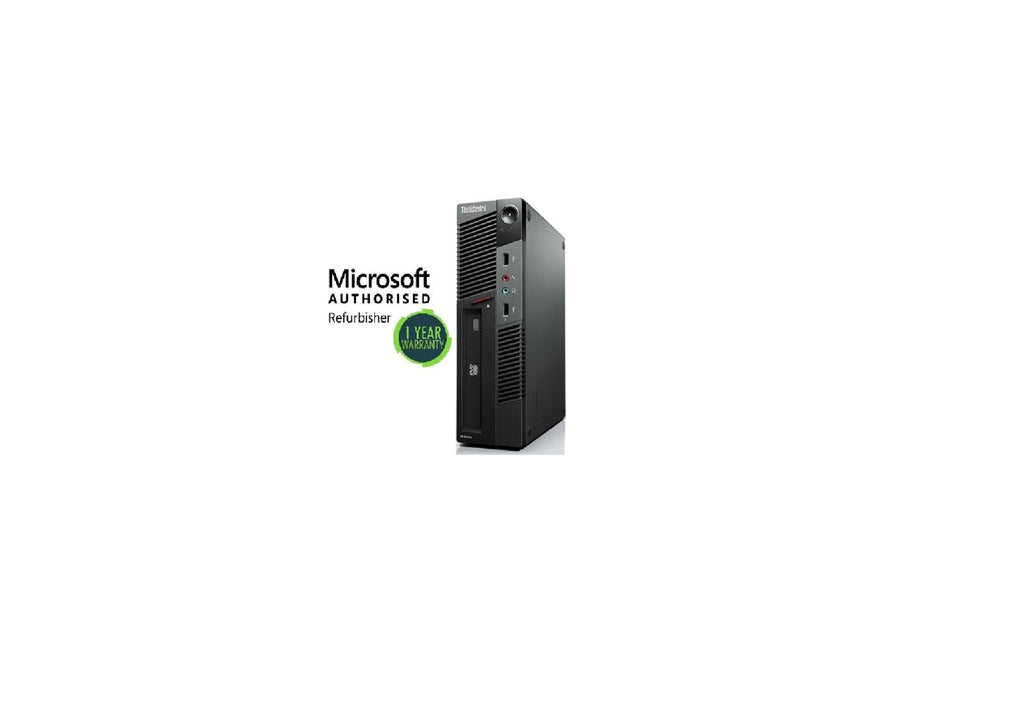 Lenovo ThinkCentre M91 USFF i5 2400 3.1ghz 8GB Ram 240GB SSD Windows 10 Pro WIFI