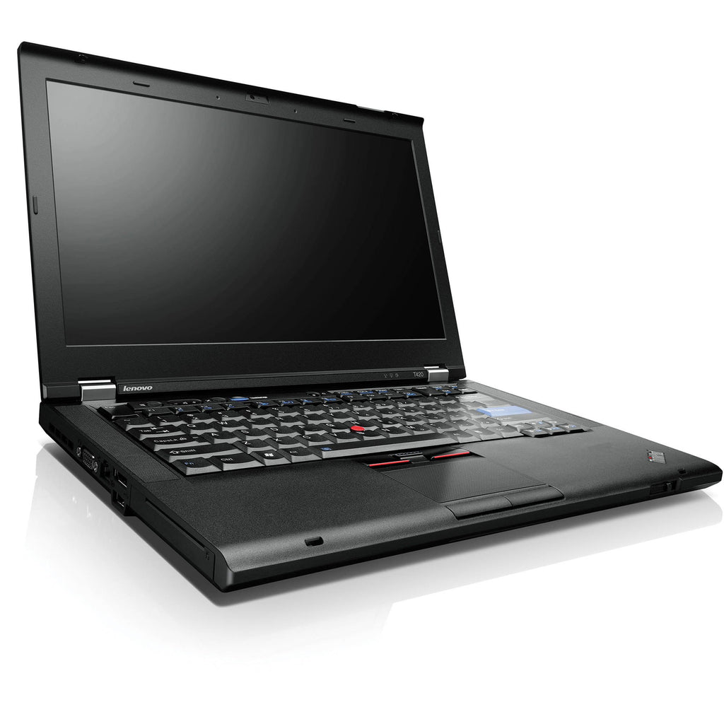 "Lenovo Thinkpad T420 14"" Intel i5(2520M)-2.6GHz 8GB 320GB DVD Windows 10 Pro (Refurbished)"