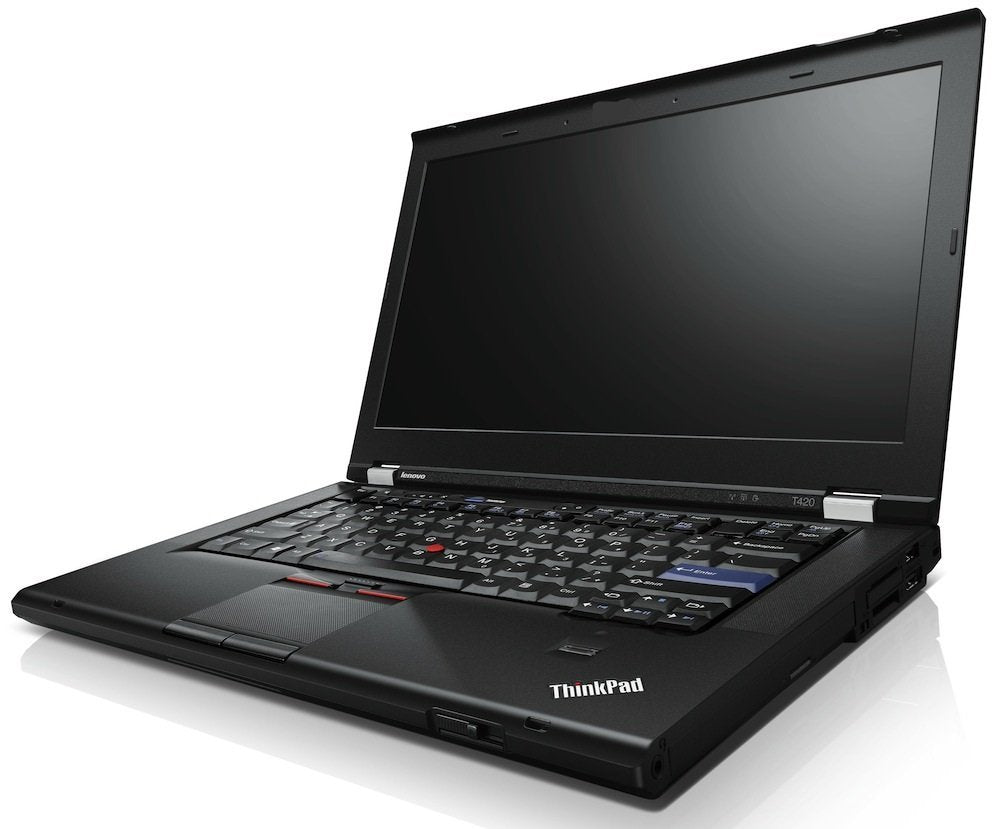 Lenovo ThinkPad T420 i7 2.70ghz 8GB 320GB HD DVD WINDOWS 10 PROFESSIONAL