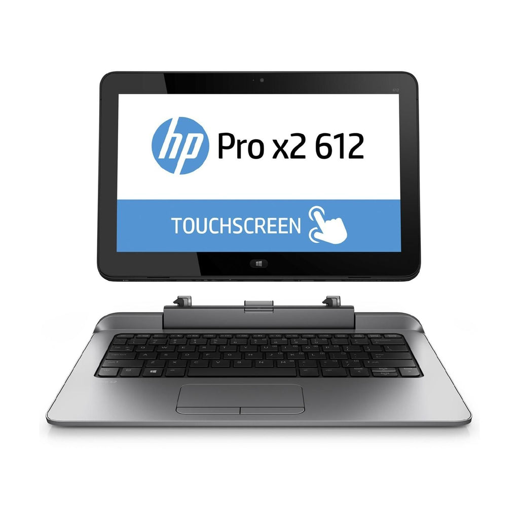 "HP Pro X2 612 G1 12.5"" Touch Convertible Intel i3-4012Y-1.5GHz 4GB RAM 128GB SSD Windows 10 Pro (Refurbished)"