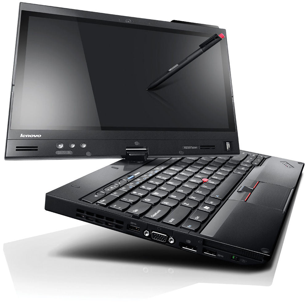 Lenovo Thinkpad X230t Convertible Tablet i5 3320M 2.6GHz, 8GB, 128GB SSD Windows 10 Professional
