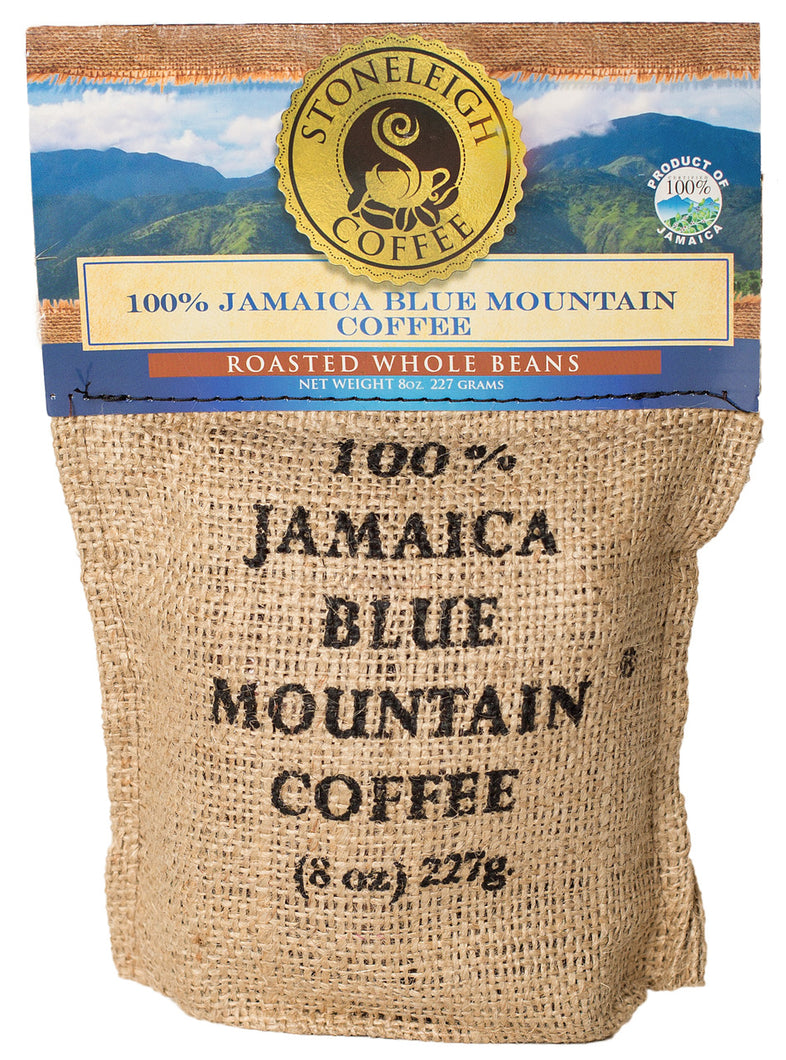 STONELEIGH 100% Jamaica Blue Mountain® Coffee - Roasted Whole Bean