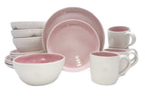 Pinch 16-piece place setting - Pink