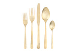 Oslo Cutlery Gift Box Set - 4 Place Settings - Matte Gold