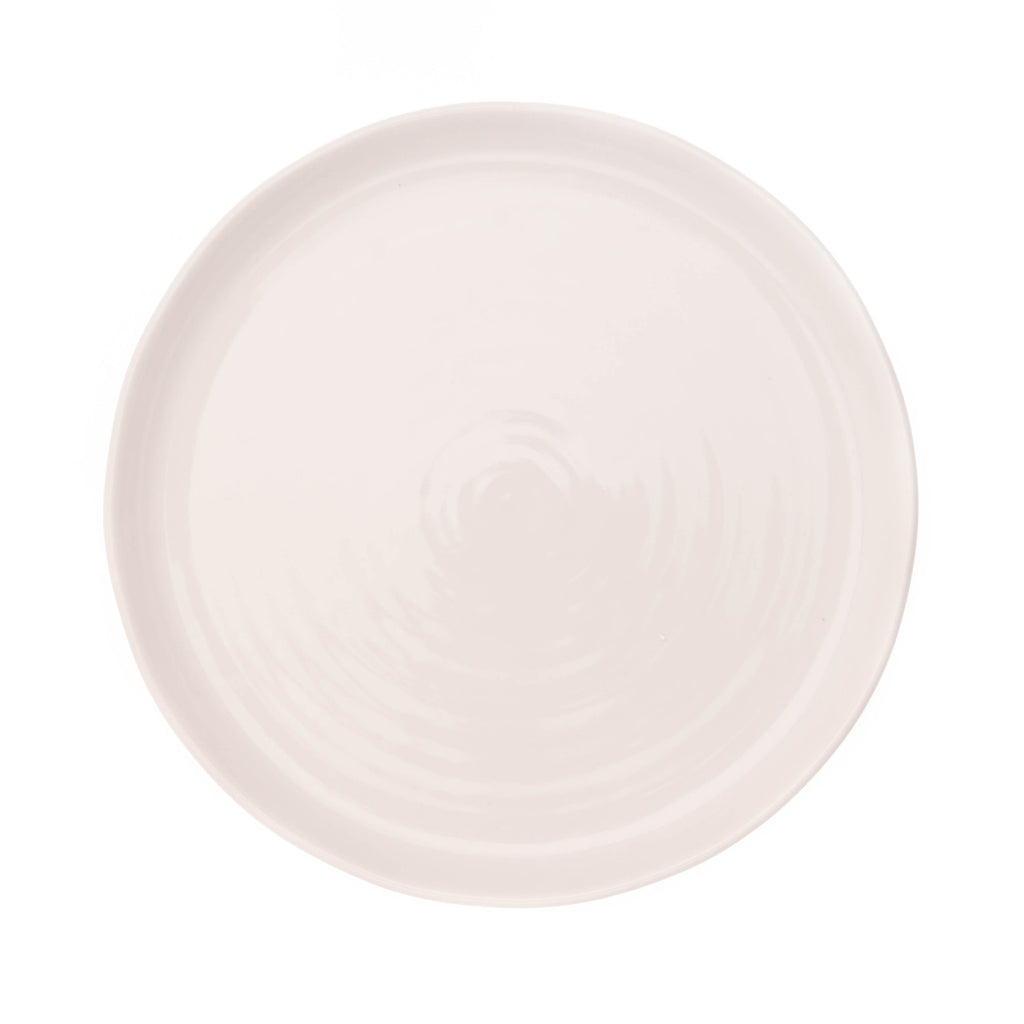 Pinch Dinner Plate in White