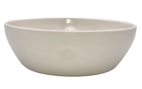 Pinch Large Serving Bowl in White