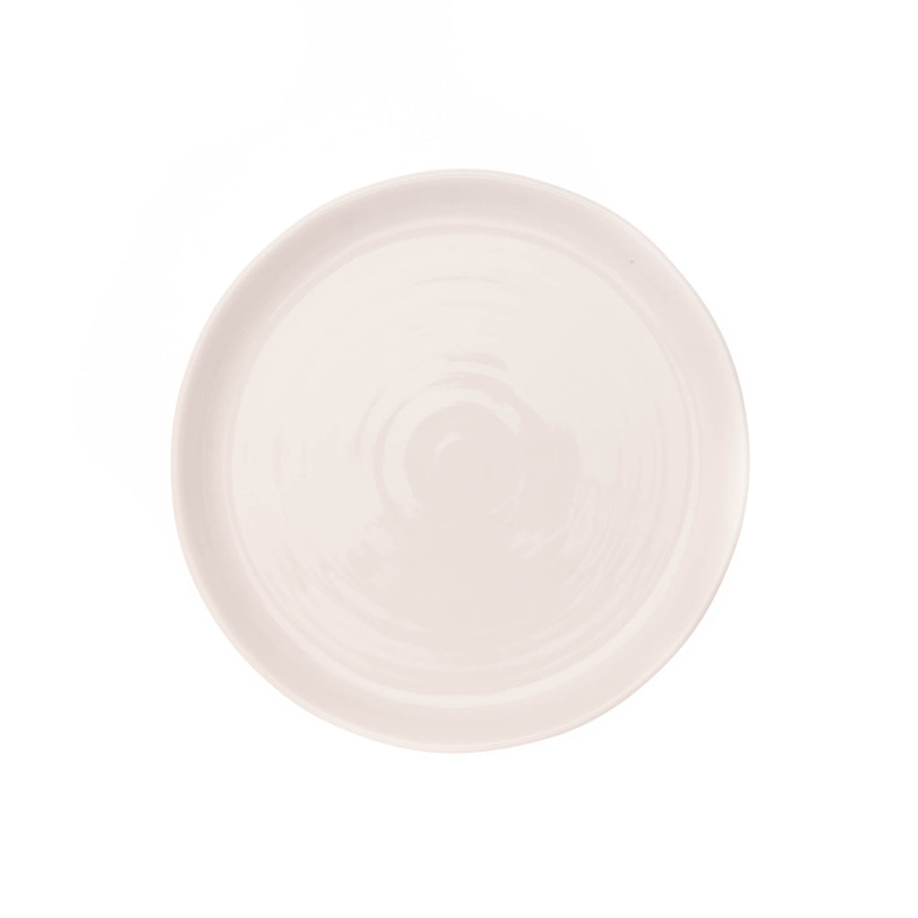 Pinch Salad Plate in White