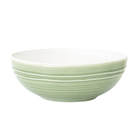 Lines 4-piece place setting - White/Green