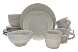 Clef - 16 piece place setting - Light Grey