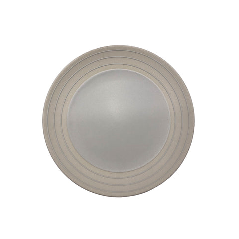 Clef Salad Plate - Light Grey - Set of 4