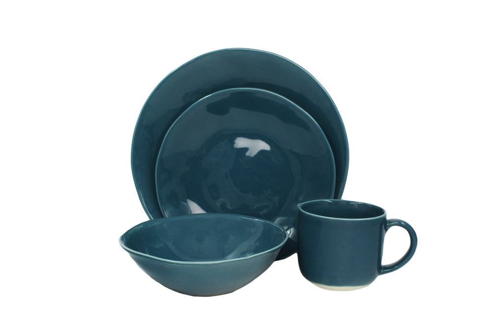 Evora 16-piece place setting - French Navy