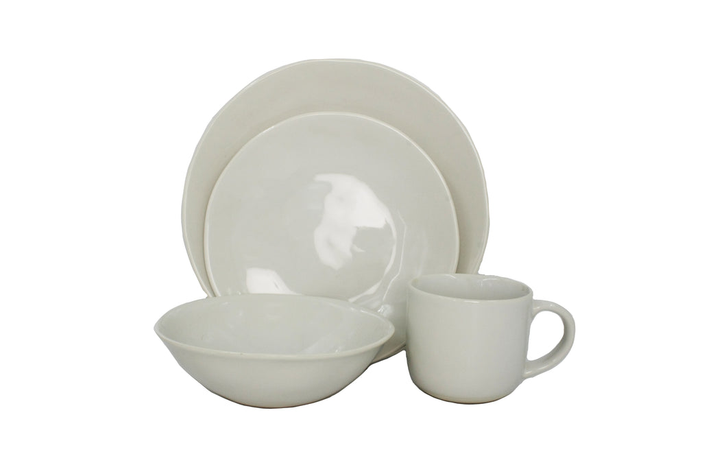 Evora 16-piece place setting - Ivory