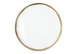 Dauville Gold Dinner Plate - Set of 4