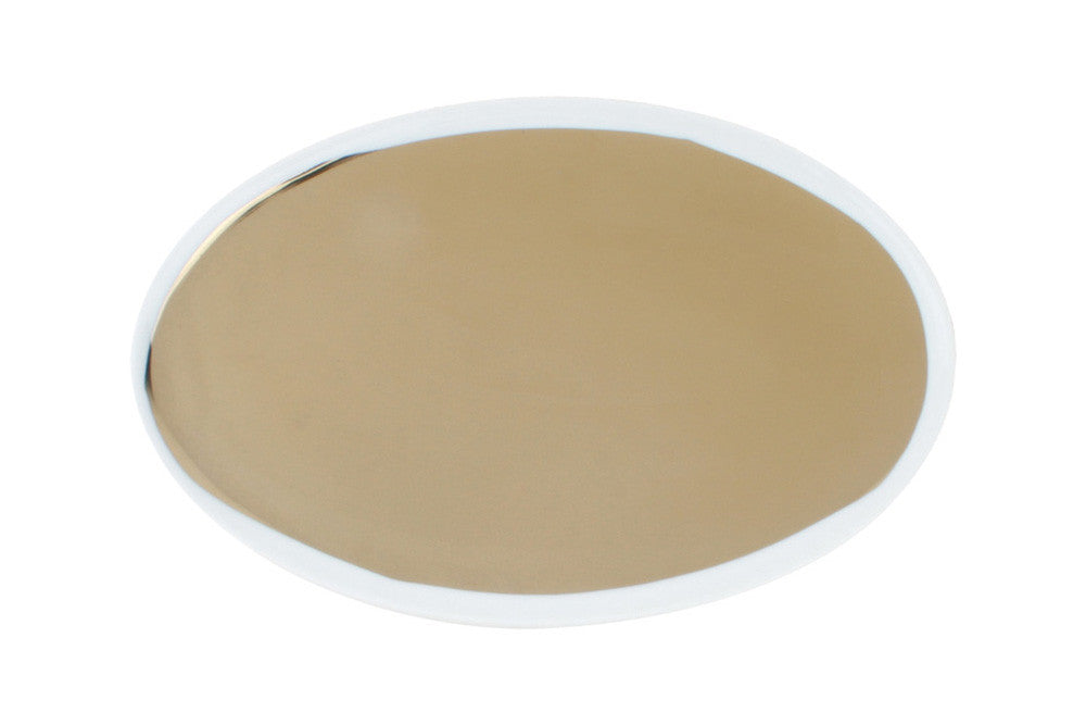 Dauville Gold Small Oval Platter