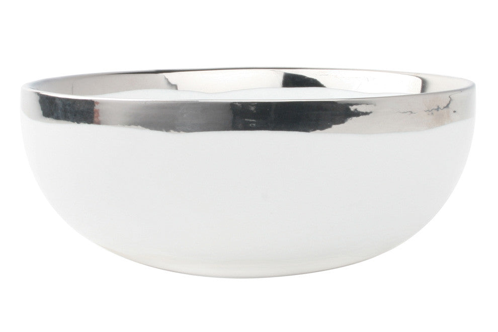 Dauville Platinum Glazed Cereal Bowl - Set of 4