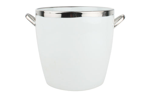Dauville Platinum Glazed Ice Bucket