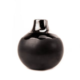 Charcoal Dauville Platinum Top-Glazed Multi-Stem Bud Vase