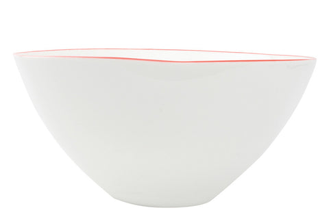 Abbesses Large Bowl in Red - Set of 2