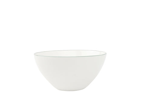 Abbesses Small Bowl in Grey Rim - Set of 4