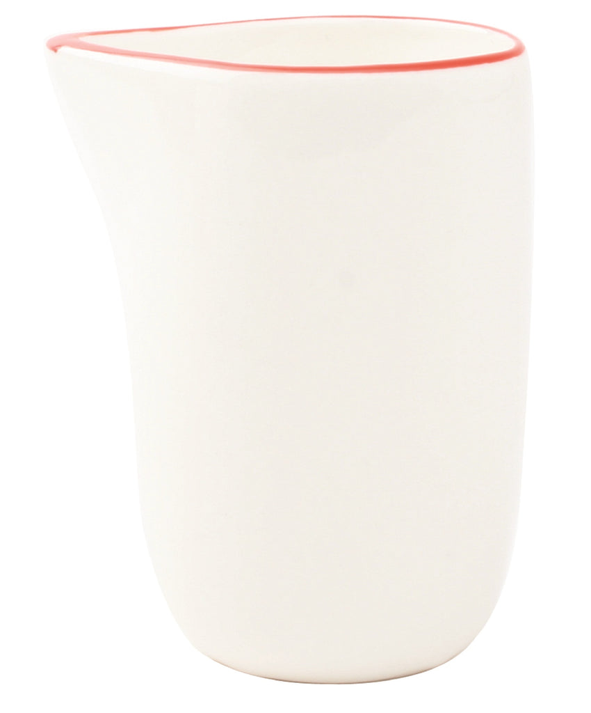 Abbesses Creamer in Red