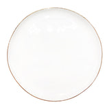 Abbesses Medium Plate in Gold Rim - Set of 4