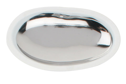Dauville Platinum Glazed Large Oval Platter