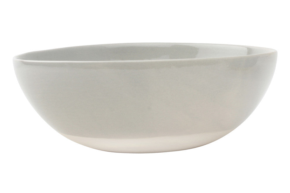 Shell Bisque Cereal Bowl in Grey - Set of 4
