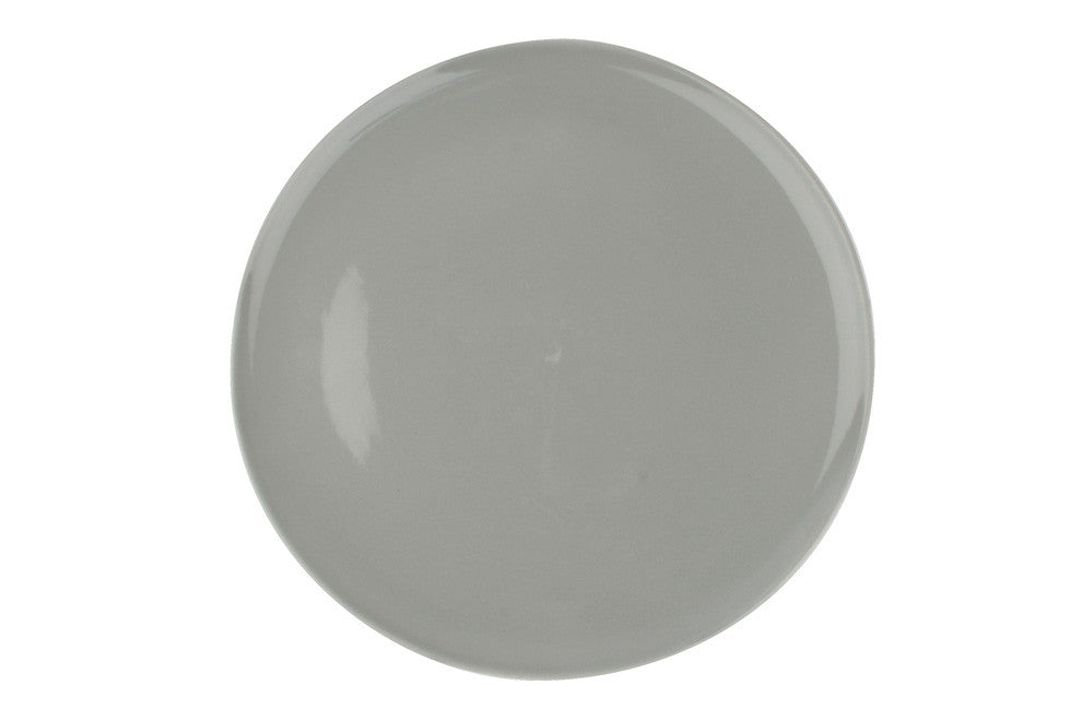 Shell Bisque Dinner Plate in Grey - Set of 4