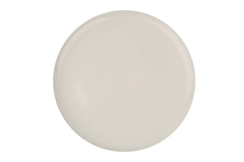 Shell Bisque Dinner Plate in White - Set of 4