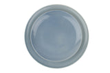 Shell Bisque Dinner Plate in Blue - Set of 4