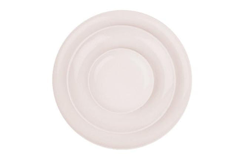 Shell Bisque Dinner Plate Soft Pink - Set of 4