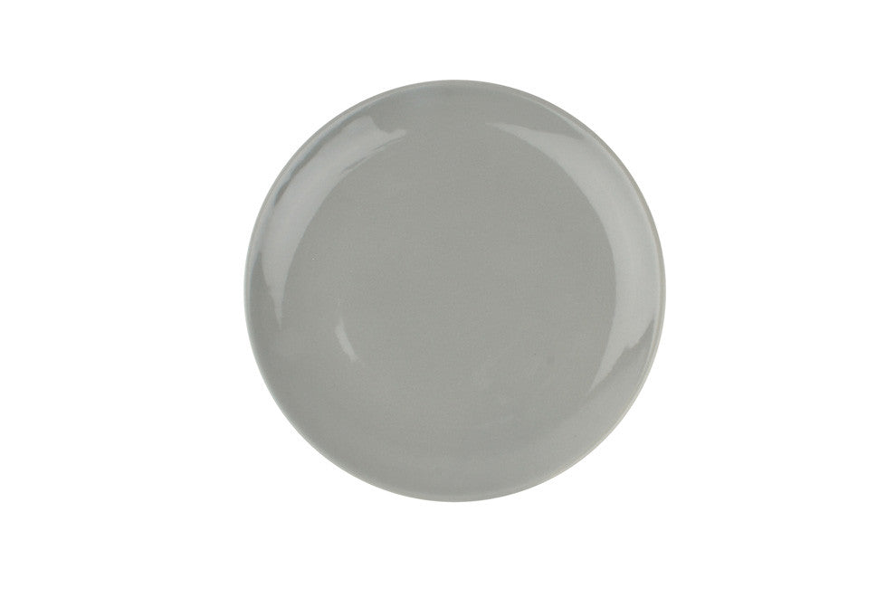 Shell Bisque Salad Plate in Grey - Set of 4