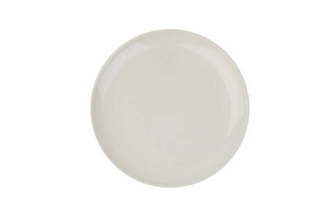 Shell Bisque Salad Plate in White - Set of 4
